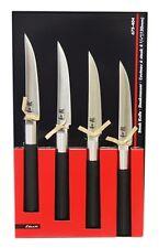 KAI Europe 67S-404 Steakmesserset Edelstahl 4 Einheiten, messer schwarz  AC485