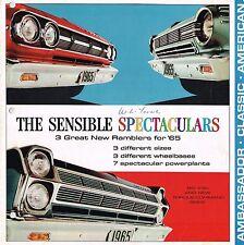 1965 Rambler Brochure : AMBASSADOR,CLASSIC,AMERICAN,990,880,770,660,550,440,330,
