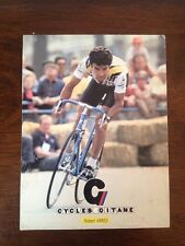 Hubert ARBES - Professional Cycling Postcard - Cycles Gitane - Renault 1980's