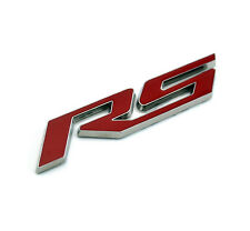 Car RS Emblem Sticker for  10-15 Camaro RS Boot Rear Badge Xmas Gift