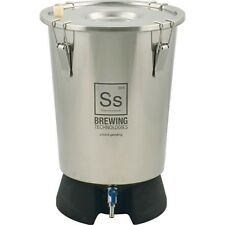 NEW SS Brewing Tech 3.5 Gallon Mini Brew Bucket  Fermenter Stainless Fermentor