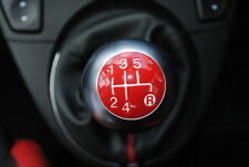 FIAT 500 POMELLO LEVA DEL CAMBIO Rosso Top Cap SPORT NUOVO ORIGINALE 46315666