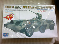 Chinese WZ551 Wheel Amphibian Armoured Vehicle Toy Model'99 Battery Operated New