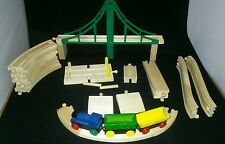 Brio Wooden 3-car-train 53 pieces of track & town accessories 3+ Boys & Girls
