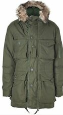 RALPH LAUREN POLO PARKA JACKET COAT MENS URI SWISS PARKA OLIVE SIZE XL RRP £595