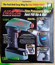 AIR DRAGON Handheld Portable Air Compressor, LED Light LCD Screen AS SEEN ON TV