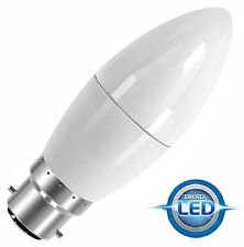 NEW ENERGY EFFICIENT LED Light Bulbs CANDELA forma bassa 6W = 40W UK BC B22 cap-s8230