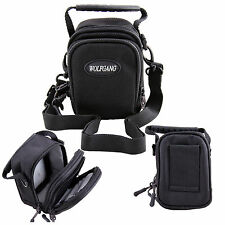 Black Camera Shoulder Case Bag For Olympus SH-1 SH-60 SH-50 STYLUS1 SZ-17 XZ-1
