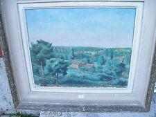 tableau maison dans la verdure par Gil Roy