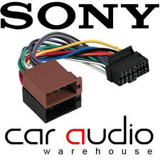 Autoleads PC3-433 Sony 16 Pin ISO Car Stereo Radio Wiring Harness Lead Cable
