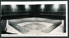 1939 FIRST NIGHT GAME AT COMISKEY PARK Vintage Baseball Panoramic Photo