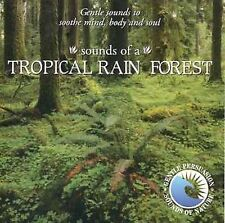 Sounds of Nature: Tropical Rain Forest by Gentle Persuasion  RELAXation CD