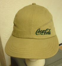 COCA COLA baseball cap Coke classic logo bottles hat 1980s soda pop