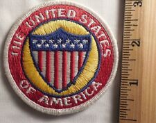 THE UNITED STATES OF AMERICA PATCH (TRAVEL, SOUVENIR)