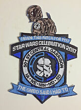 "Star Wars 501st Legion Central Celebration 2017  Embroidered 5"" Promo Patch"