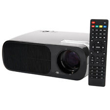 3200 Lumens Home Mini LED Projector 1080P HD 3D Multimedia AV VGA HDMI USB TV SD