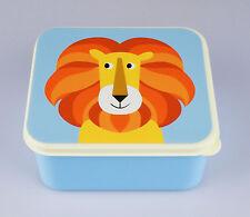 Frischhalte-Dose, Lunchbox, Brotdose für Kinder, Motiv freundlicher Löwe