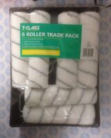 """Harris 4310 T Class Delta Paint Roller And Tray Set With 6 Sleeves 9"""" x 1.3/4"""""""