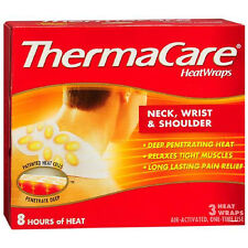 ThermaCare Air-Activated Heatwraps, Neck Shoulder Wrist