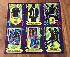 6 X Tarjetas Match Attax táctica 2016/17 Full Set #.