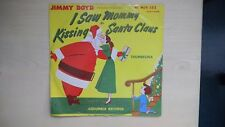 """Jimmy Boyd I SAW MOMMY KISSING SANTA CLAUS Columbia Records 10"""" 78rpm 50s"""