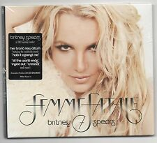 Britney Spears Femme Fatale 2011 CD Hold it Against Me, I Wanna Go