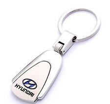 HYUNDAI High Quality Keychain Strong Metal Hyundai Car logo Keyring Key Fob