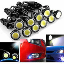 10x White DC12V 9W Eagle Eye LED Daytime Running DRL Backup Light Car Auto uu
