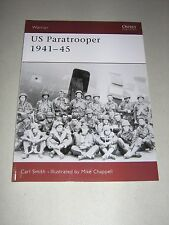 Warrior: US Paratrooper 1941-45 26 by Carl Smith (2000, Paperback)