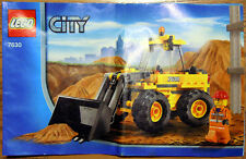 LEGO CITY Construction 7630 Front-End Loader * Good Condition, Used *