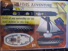 Wizkids Pirates of the Caribbean #007 HMS Adventure Pocketmodel CSG