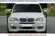 BMW X5 E70 X6 E71- E72  Wing Mirror Cover RIGHT PAINTED ANY BMW COLOUR 2006-2013