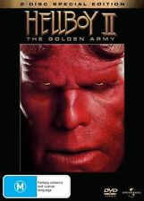 Hellboy II: The Golden Army (DVD, 2008, 2-Disc Set)