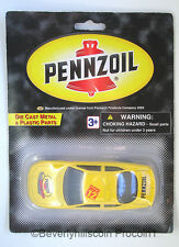 Golden Wheel Pennzoil Die Cast Metal and Plastic Toy Racing Sports Car