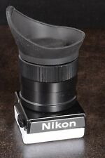 SUPERB! NIKON DW-4 6X FOCUSING FINDER FOR F3 F3HP WITH EYEPIECE CUP & SHUTTER