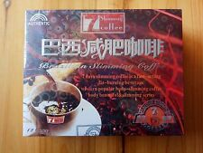 Hot·1 Box Brazilian 7 Days Authentic Quick Weight Loss Slimming Coffee