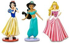 DISNEY PRINCESS Figure Set PVC TOY Party Cake Topper JASMINE Aurora SNOW WHITE!