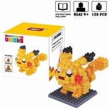 Pokemon GO PIKACHU Poke Monster Anime Figures Building Blocks Bricks Toys Gift