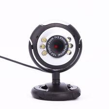 12 Mega USB 6 LED PC Webcam Camera + MIC FOR Laptop MSN