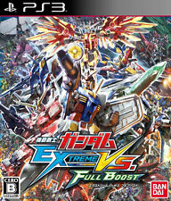 UsedGame PS3 Mobile Suit Gundam EXTREME VS FULL BOOST JAPAN Import