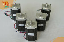 AU Free! Wantai 5PCS Nema23 Stepper Motor Dual Shaft 57BYGH115-003B 3A 425oz-in