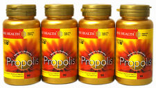 4 x Flaschen Bee Health PROPOLIS 1000mg x 90 Tabletten gesundes immunsystem