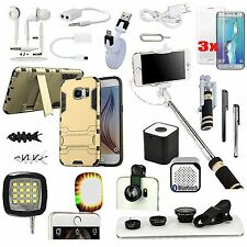 18 in 1 Accessory Kit Case Speaker Selfie Light Monopod For Samsung Galaxy S7