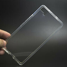 For BQ Aquaris M5 New Clear Anti Print Soft Gel Skin case back cover