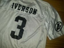 Mens Reebok I3 Limited Edition Allen Iverson Football Jersey Vintage Size 2XL