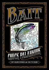 SIGNED Bait off-Color Stories for You to Color by Chuck Palahniuk new autograped