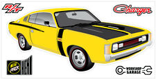 New! Collectable Chrysler VH Valiant Charger R/T - YELLOW