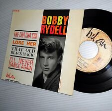 BOBBY RYDELL cha cha cha +3 more 1962 teen Pop French PICTURE SLEEVE 45 ep E3123