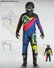 ACERBIS KIT COMPLETO 2016 MAGLIA + PANTALONE SUCKERPUNCH BLU JERSY+PANTS M - 28