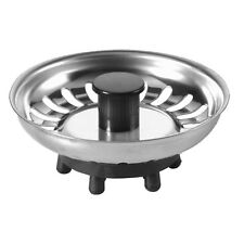 McAlpine Basket Strainer Kitchen Sink Plug | Rubber Finger Type